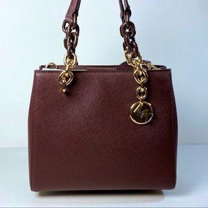 Michael Kors Cynthia satchel shoulder bag